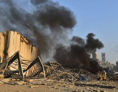 Potężna eksplozja w Bejrucie. Prezydent Libanu mówi o przyczynie