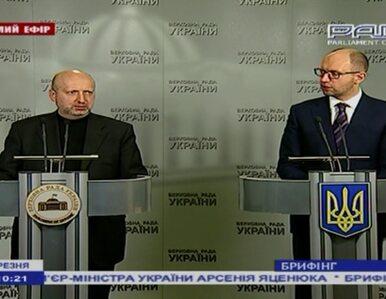 Premier Ukrainy: To już nie groźba. To wypowiedzenie wojny