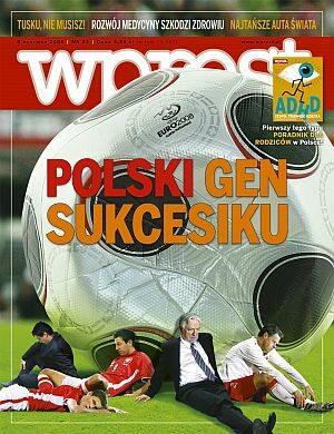 Okładka tygodnika Wprost nr 23/2008 (1328)