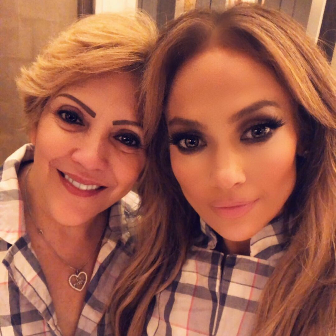 Jennifer Lopez z matką