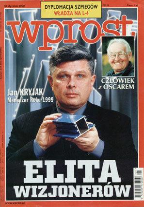 Okładka tygodnika Wprost nr 5/2000 (896)