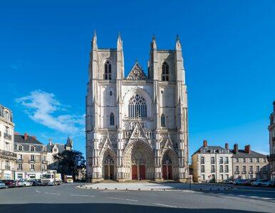 Podpalenie katedry w Nantes. Są zarzuty dla Rwandyjczyka