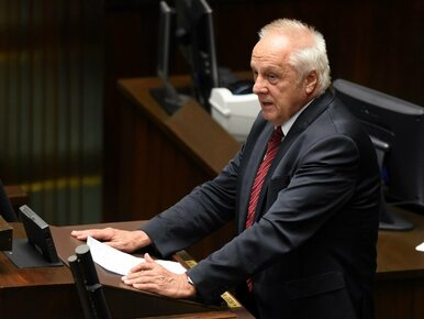 Prokuratura wystąpiła o zgodę na pociągnięcie posła Niesiołowskiego do...