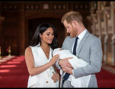 Chrzest syna Meghan i Harry'ego. Są pierwsze zdjęcia!
