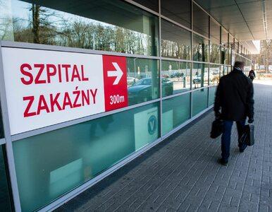 Wiceminister zdrowia: Jesteśmy jeszcze przed szczytem zachorowań na...
