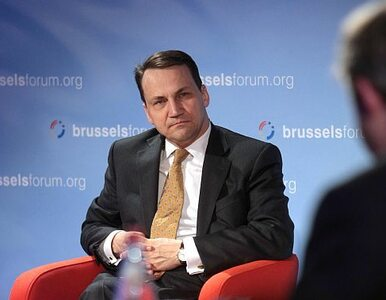 Sikorski: UE potrzebuje lidera. Połączmy stanowiska szefów KE i RE