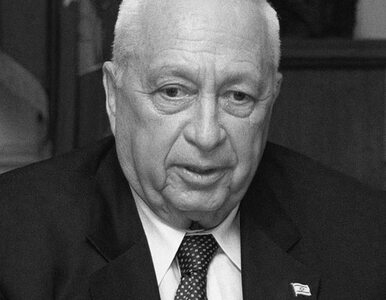 """Ariel Szaron był jak Charles de Gaulle"""