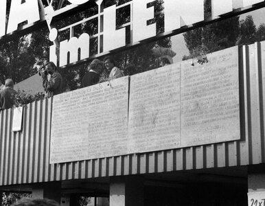 39 lat temu temu podpisano w Gdańsku porozumienia sierpniowe. Tak...
