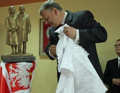 2,5-metrowy Lech Kaczyński stanie w Radomiu - Suski o to zadbał