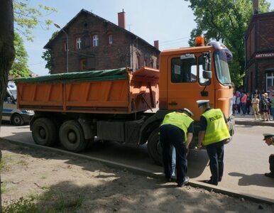 Tragiczny wypadek w Zabrzu. Ciężarówka zabiła 86-latkę
