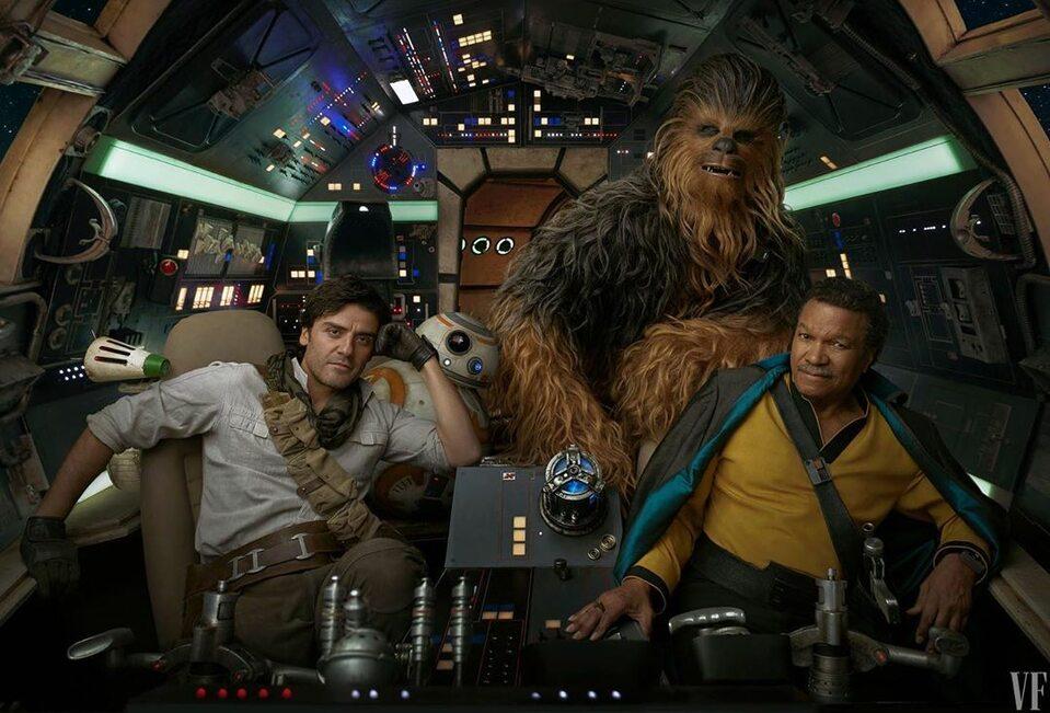 """Obsada filmu """"Gwiezdne wojny: Skywalker - odrodzenie"""" (2019) w obiektywie Annie Leibovitz"""
