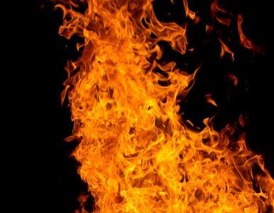 Olsztyn: pożar na poddaszu kamienicy