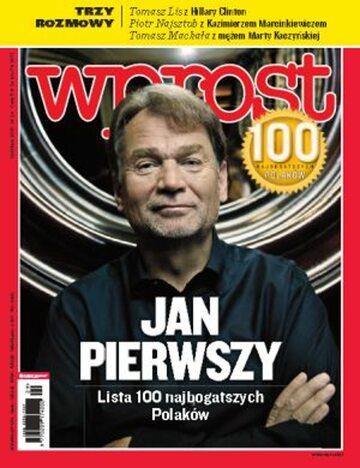 Okładka tygodnika WPROST: 29/2010