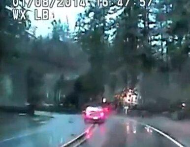 Desperacki skok z mostu w Oregonie. Dramatyczny finał pościgu