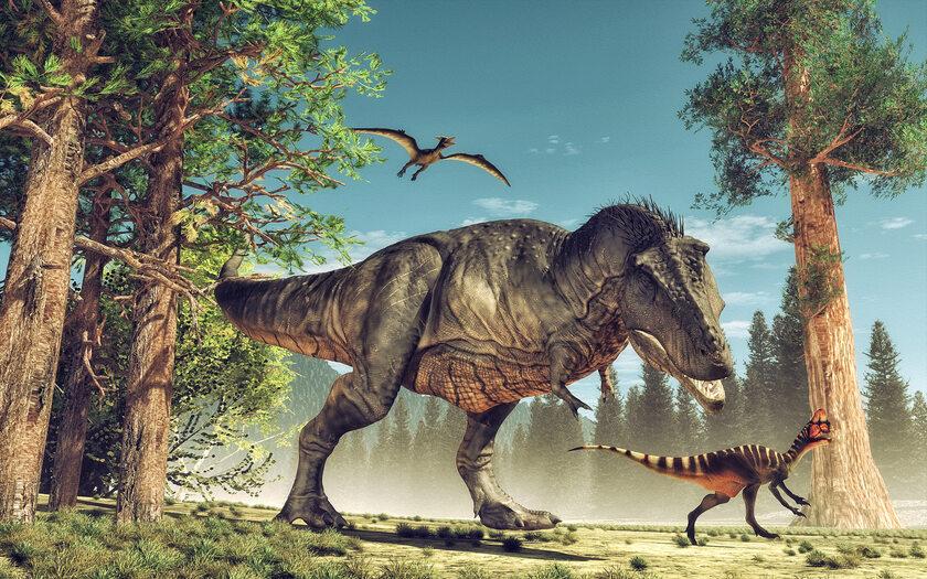 Dinozaury (zdj. ilustracyjne)