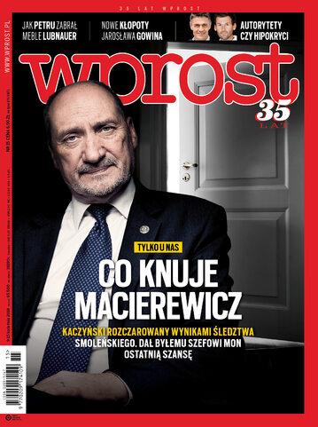 Okładka tygodnika Wprost nr 15/2018 (1831)