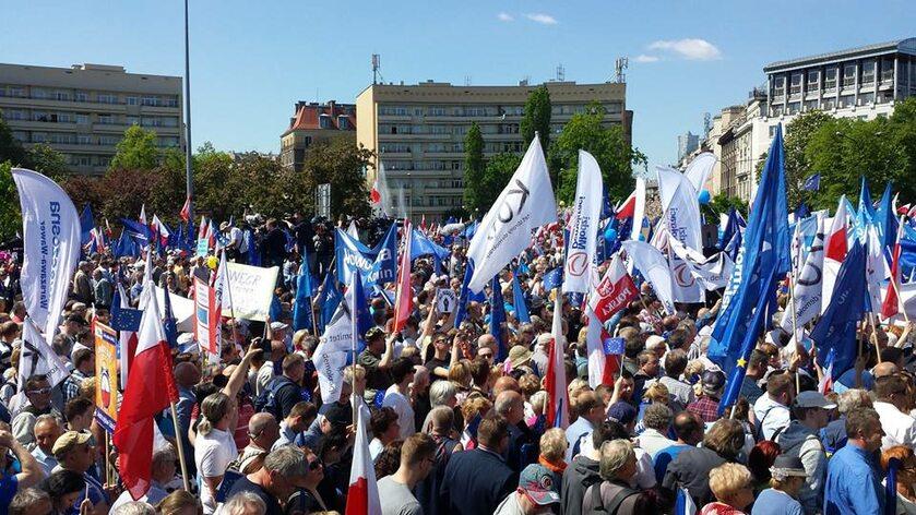 Demonstracja KOD z 7 maja 2016