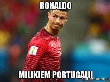 Ronaldo i ekipa z Portugalii jadą do domu. Internauci są bezlitośni