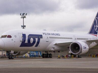 Awaria dreamlinera linii lotniczych LOT. Odwołano dwa loty