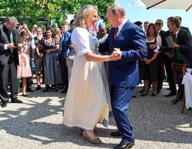 Władimir Putin na ślubie szefowej austriackiego MSZ