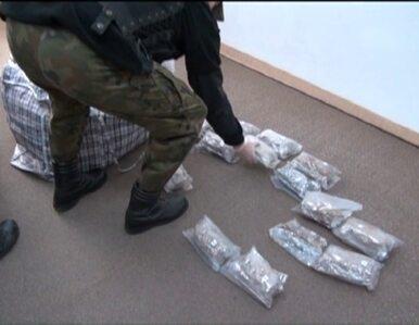 Wiózł w aucie 36 kilogramów marihuany. Policja zatrzymała Rosjanina