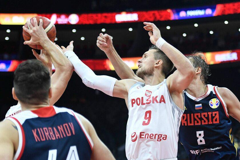 Mateusz Ponitka w meczu z Rosją