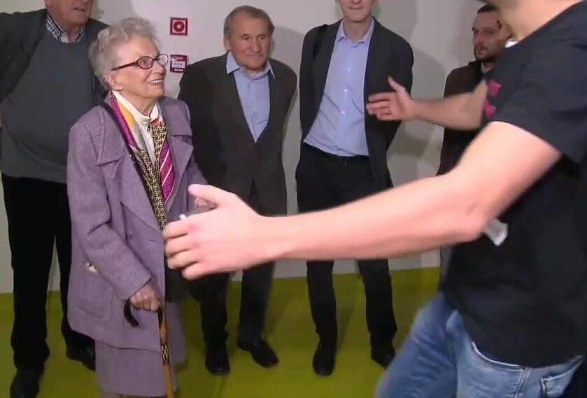 Anna Przedpełska-Trzeciakowska wsparła protestujących rezydentów