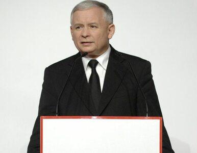 Kaczyński: Tusk wystraszył się misji Glińskiego
