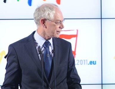 Van Rompuy: strefie euro nie grozi nowa recesja