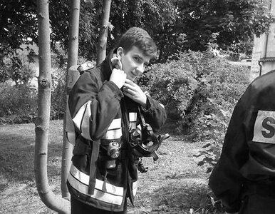 Nie żyje strażak ranny podczas ćwiczeń w Kętrzynie. Miał 23 lata