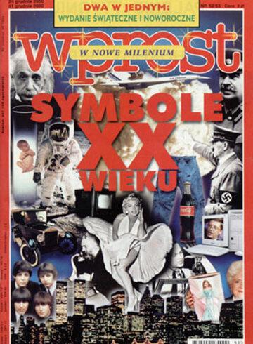 Okładka tygodnika WPROST: 52/53/2000