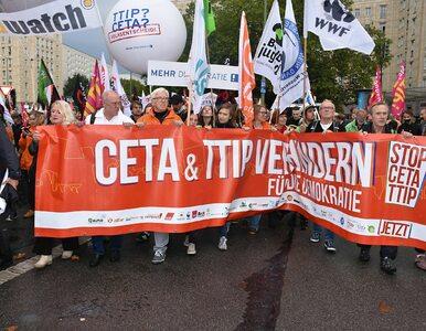 #WielkaDemonstracja - Stop CETA i TTIP. Przeciwnicy unijnych umów będą...