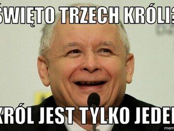 Memy z Jarosławem Kaczyńskim