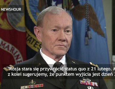 Najwyższy dowódca US Army: Może dojść do walk zbrojnych