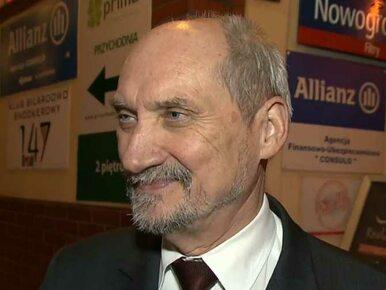 Macierewicz: Smoleńsk? Najważniejsze są sprawy społeczne i gospodarcze