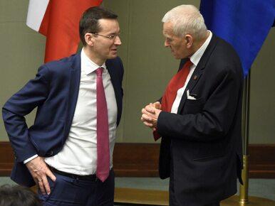 Morawiecki o niepotrzebnych obawach syna ws. budżetu: On nie...