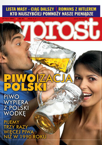 Okładka tygodnika Wprost nr 30/2003 (1078)