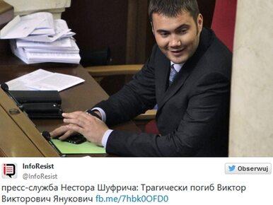 Syn Wiktora Janukowycza zginął w wypadku