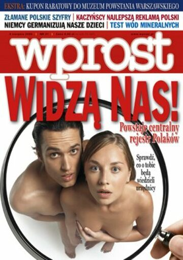 Okładka tygodnika Wprost nr 31/2006 (1234)