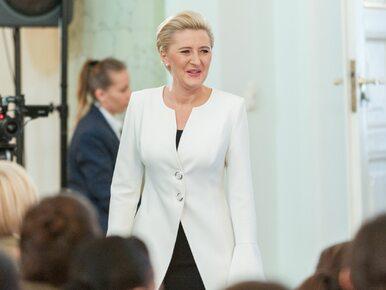 Pierwsza Dama posłuchała apelu protestujących. Przyjechała do Sejmu