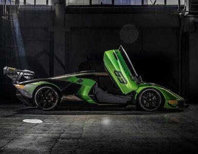 Nowym supersamochodem Lamborghini nie można będzie jeździć po drogach...