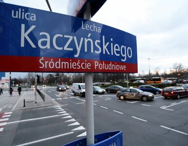 Radni PiS chcą ulicy Lecha Kaczyńskiego w Warszawie. Przypominają o...