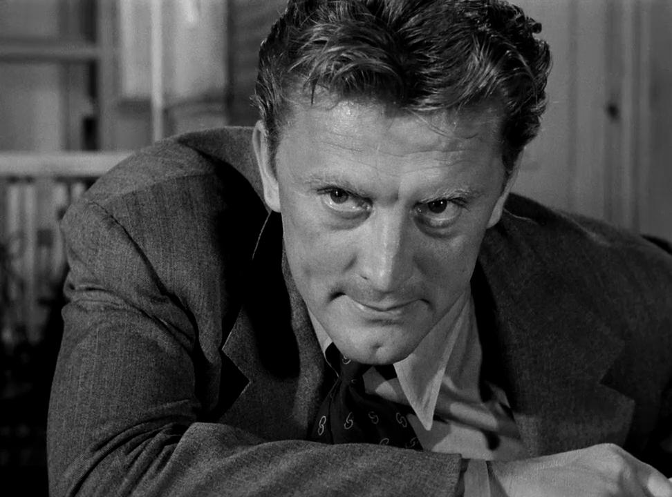 """Kirk Douglas w filmie """"Opowieść o detektywie"""" (1951)"""
