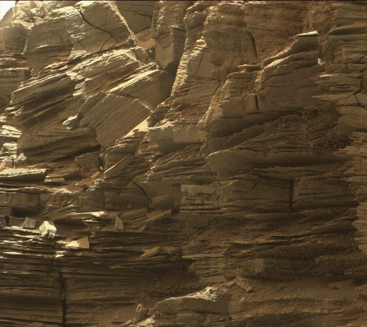 Marsjańskie skały
