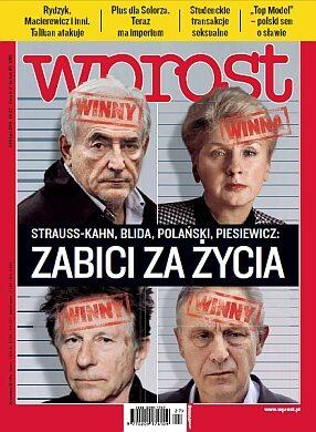 Okładka tygodnika Wprost nr 27/2011 (1482)
