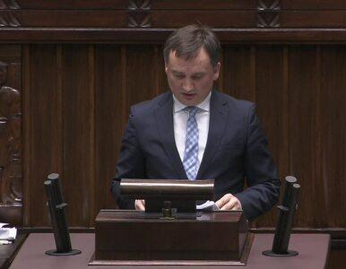 Ziobro w Sejmie o Stefanie W.: Nie było potrzeby umieszczania go w...