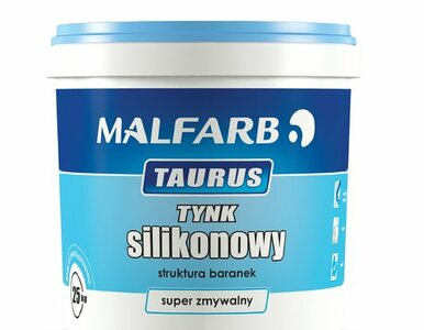 Nowość w ofercie marki Malfarb - tynk silikonowy TAURUS