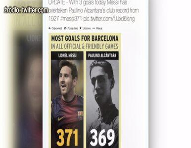 Nowy rekord Messiego. 371 bramek dla Barcelony