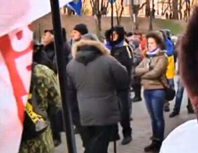 """Ukraińcy protestują. """"Chcę być w Europie!"""""""