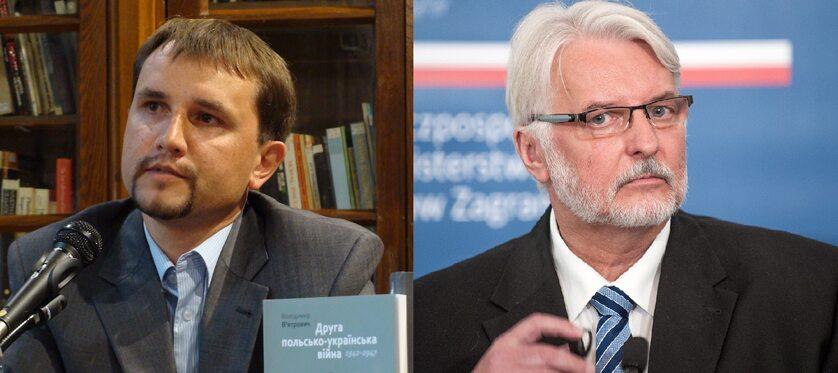 Wołodymyr Wiatrowycz, Witold Waszczykowski